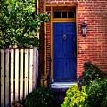 Blue Door, Baltimore by RC DeWinter