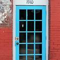 Blue Door by Robert Wilder Jr