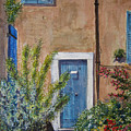 Blue Door by Shirley Braithwaite Hunt