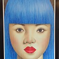 Blue Dream 78x55 by Roni Mashiah