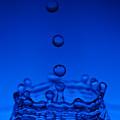 Blue Drop by Steve Gadomski