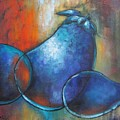 Blue Eggplants by Chris Hobel