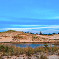 Blue Evening In Ludington State Park by Dan Sproul