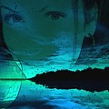Blue Eyes At Night by Jon Palm