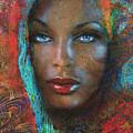 Blue Eyes Dark Oriental by Angie Braun