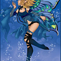 Blue Fairy Of Water by KimiCookie Williams