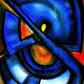 Blue Fans - Pastels by J Kamaru