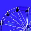 Blue Ferris Wheel by Glennis Siverson