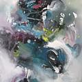 Blue Fever15 by Seon-Jeong Kim