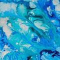 Blue Flowers by Elle Justine