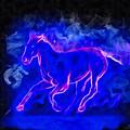 Blue Fire Horse - Da by Leonardo Digenio