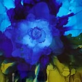 Blue Flower by Donna Perry