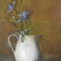 Blue Flower by Joan DaGradi