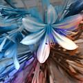 Blue Flowers  by Daniel Arrhakis