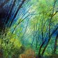 Blue Fog by Hailey E Herrera