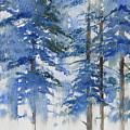 Blue Forrest by Lisa Schorr