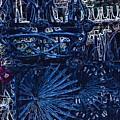 Blue Gate Barcelona by Mark J Dunn
