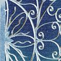 Blue Gate Mosaic by Donna Bentley