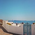 Blue Gate Santorini by Sophie McAulay