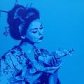 Blue Geisha by Leon Keay