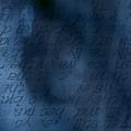 Blue Glimpse by Vicki Ferrari