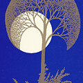 Blue Gold Moon by Charles Cater