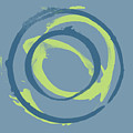 Blue Green 1 by Julie Niemela