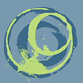 Blue Green 2 by Julie Niemela