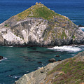 Blue Green Seas - Highway One by Soli Deo Gloria Wilderness And Wildlife Photography