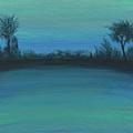 Blue Green Sunset by Patty Vicknair