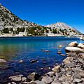 Blue Green Treasure Lake by Chris Brannen