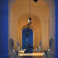 Blue Hall No. 3 by Mircea Caraman