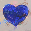 Blue Heart 126 by Terry Crump