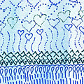 Blue Hearts Rising by Corinne Carroll