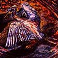 Blue Heron Swirl by Kendall Kessler