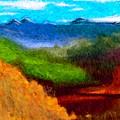 Blue Hills by David Lane