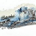 Blue Hillside by Glenn Galen