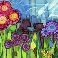 Blue Hoo Hoo Skies by Vicki Baun Barry