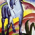 Blue Horse I 1911 by Marc Franz