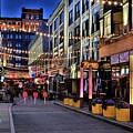 Blue Hour At East Fourth by Frozen in Time Fine Art Photography