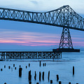 Blue Hour At The Bridge by Robert Potts