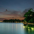 Blue Hour Harbourfront Singapore by Janet Giles