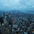 Blue Hour In New York by Mirko Chianucci