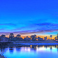 Blue Hour In The Panhandle by Don Mercer