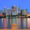 Blue Hour In The Steel City by Frozen in Time Fine Art Photography