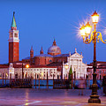 Blue Hour In Venice by Barry O Carroll