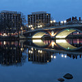 Blue Hour On The Charles by Debbie Gracy