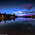 Blue Hour Reflected by Penny Miller