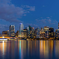 Blue Hour Vancouver by Pierre Leclerc Photography