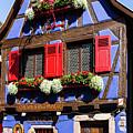 Blue House # I by Paul MAURICE